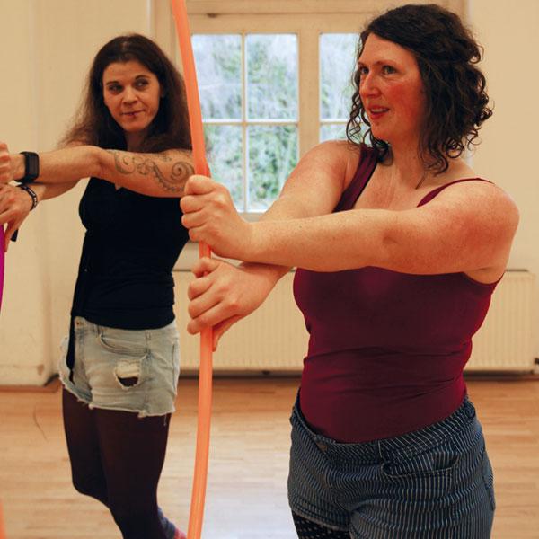 Hoop Dance - Anna Lucia Sperber - KAZ