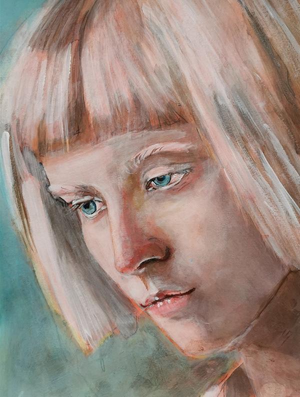 Portrait Malen mit Anna Dianda - KAZ
