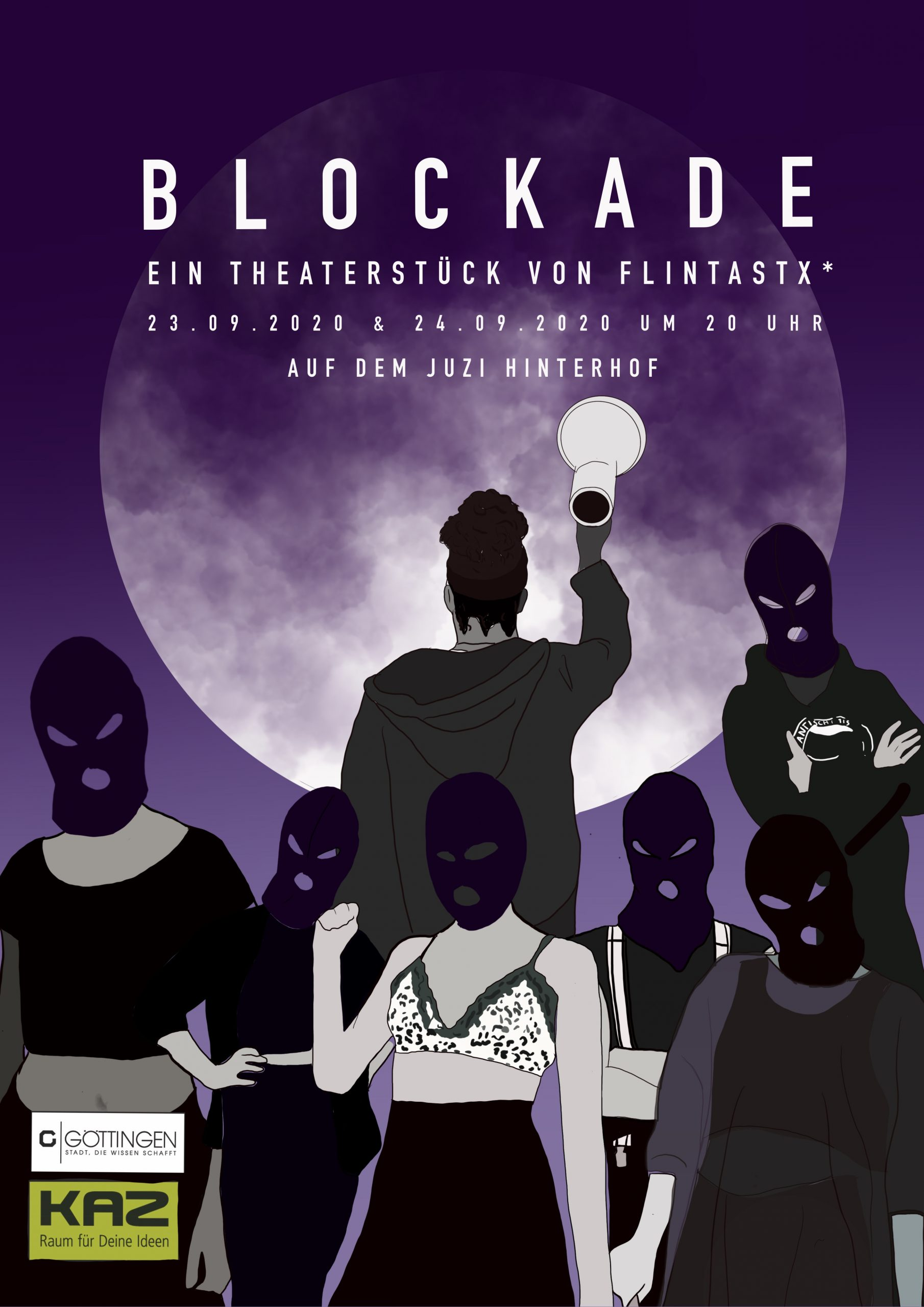 Freiraumprojekt KAZ - Blockade Theaterstück