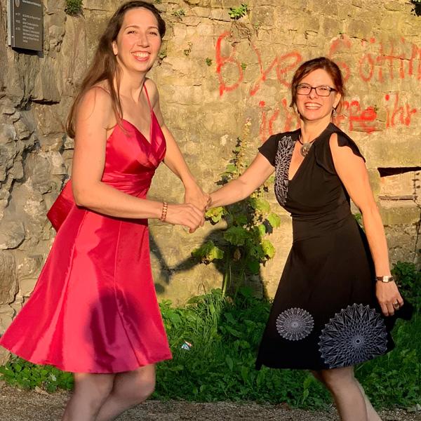 Salsa mit Corinna und Carlita im KAZ