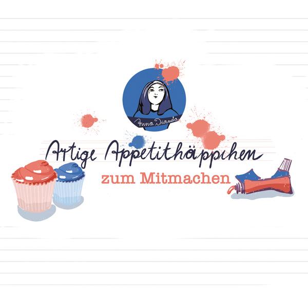 Artige Appetithaeppchen Kunstworkshop online