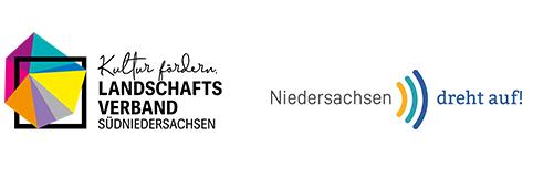 Logos Landschaftsverand und Niedersachsen Dreht auf