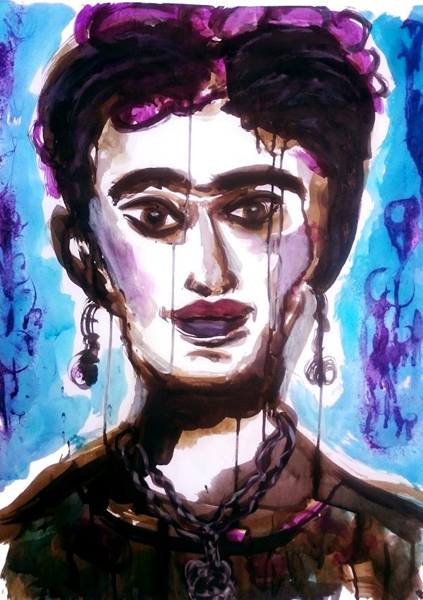 Frida Kahlo Workshop KAZ